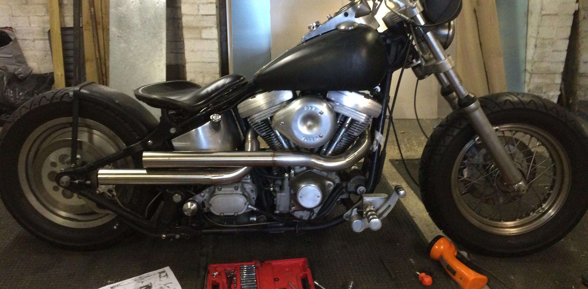 Harley Davison Bespoke Exhaust