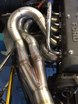 Chevron B19 Exhaust Manifold