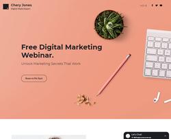 Digital Marketing Webinar website