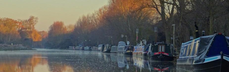 Barnwell Moorings in Autumn