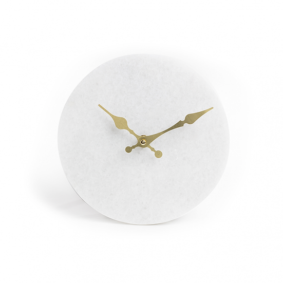 Marble and Gold Clock
