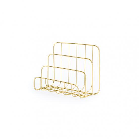 Gold Letter Rack