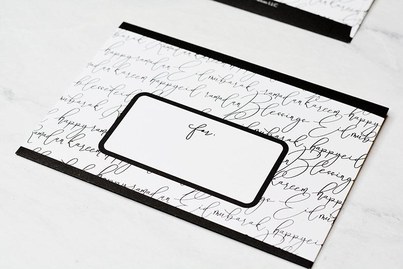 Calligraphy Eid Money Envelopes