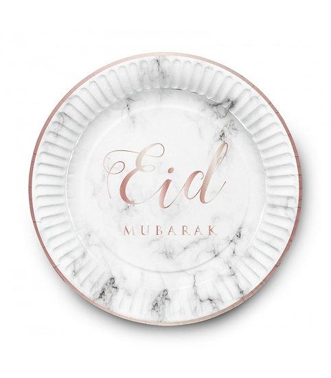 Eid Marble Plates