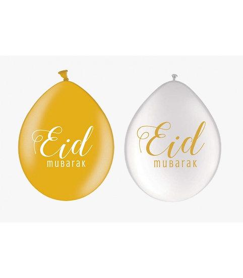 Eid Balloons Gold