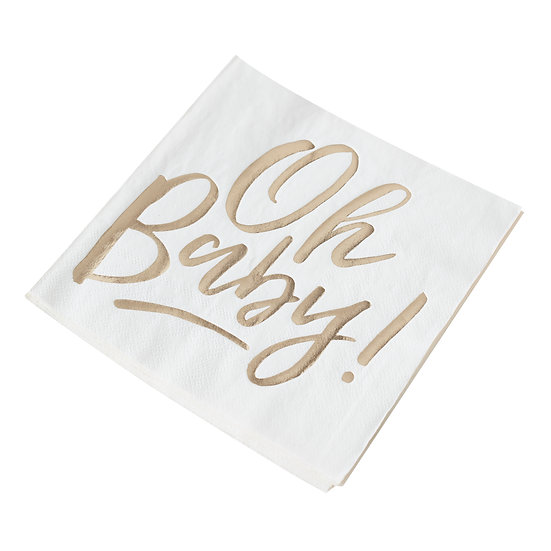 'Oh Baby!' Napkins