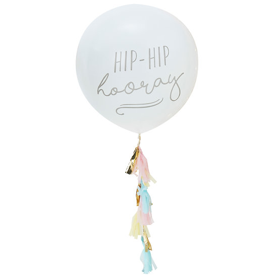Large Hip Hip Hooray Balloon Kit
