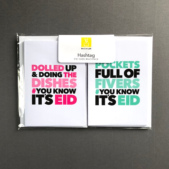 Hashtag Eid Multi-pack