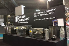 Range of Grease Guardian under sink automatic grease removal devices