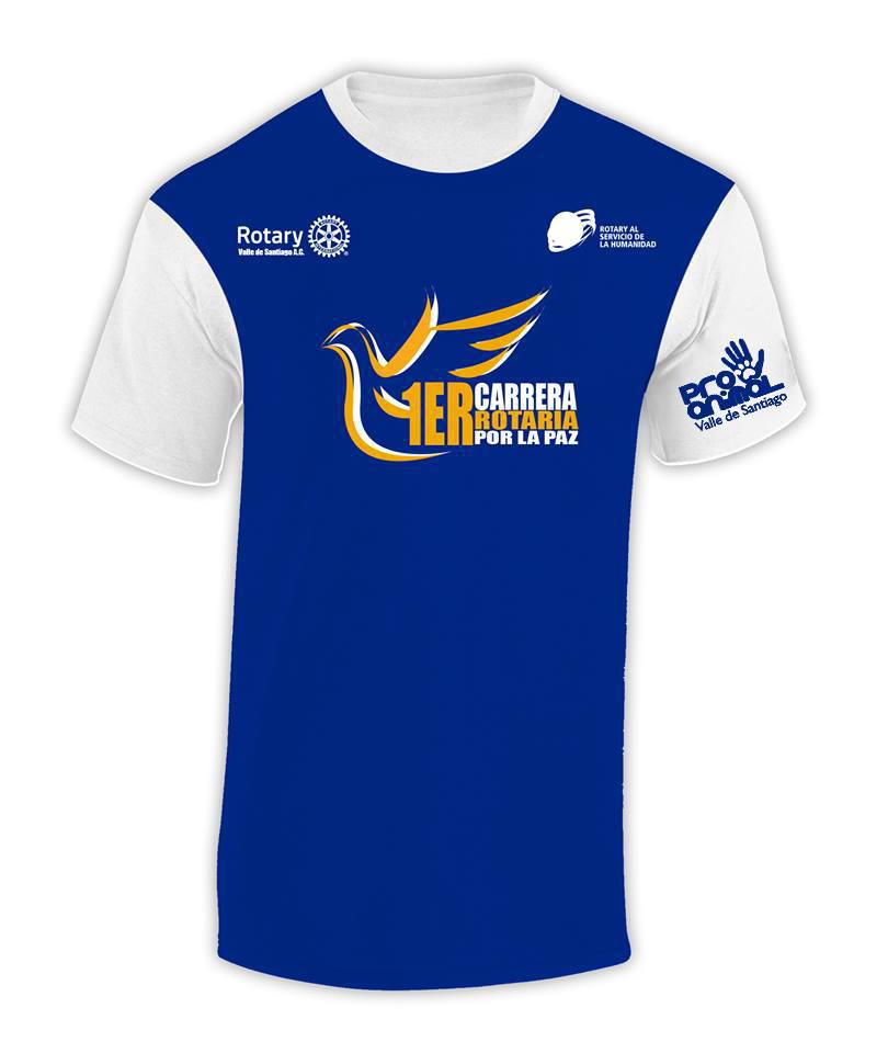 Playera Rotaria