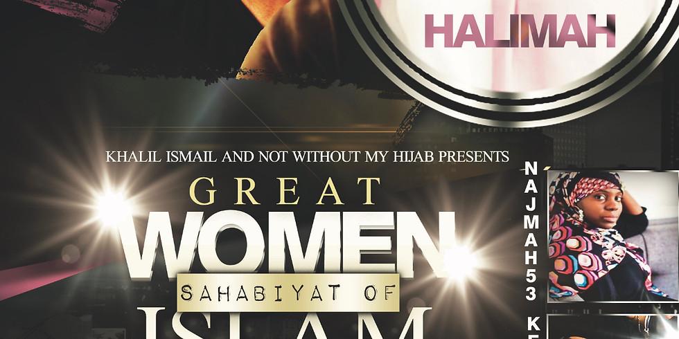 The Sahabiyat-Great Women of Islam Poetry Jam