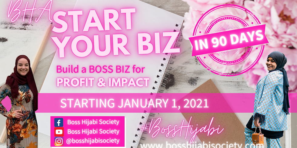 Build A Boss Biz in 90 Days: For Profit and Impact*