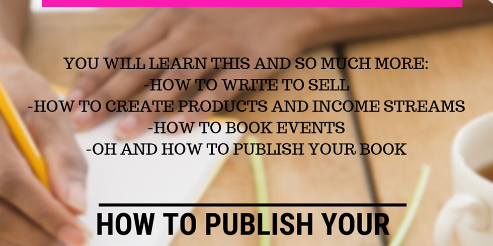 AUTHOR MASTERCLASS: How to Publish Your Best Seller in 30 DayS