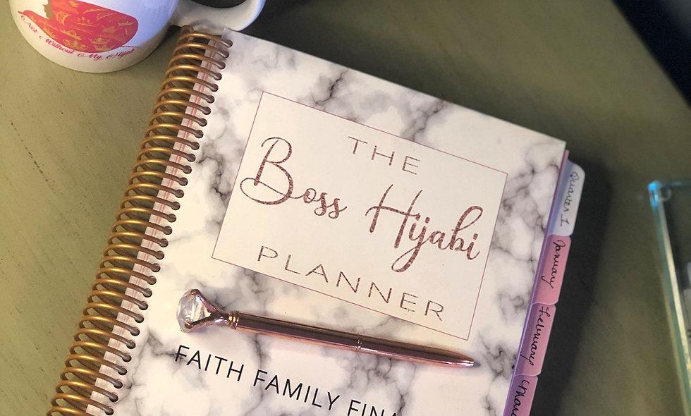 "The ""Boss Hijabi "" Planner"