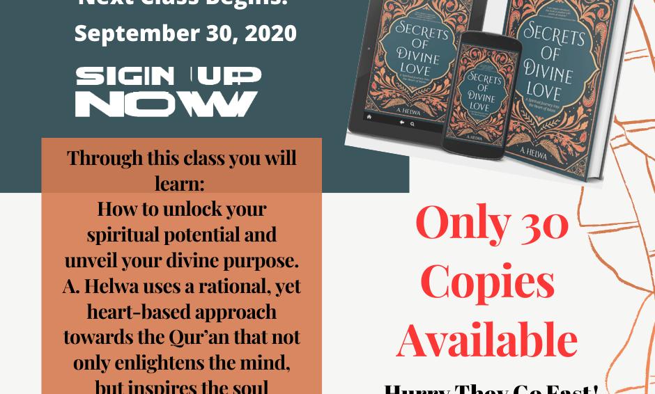 September Book Club:Secrets of Divine Love