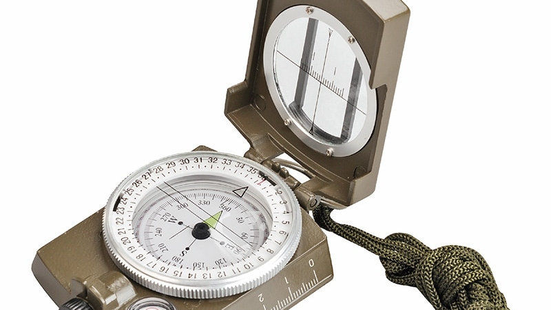 New Professional Military Army Metal Sighting Waterproof Compass Outdoor Gadgets