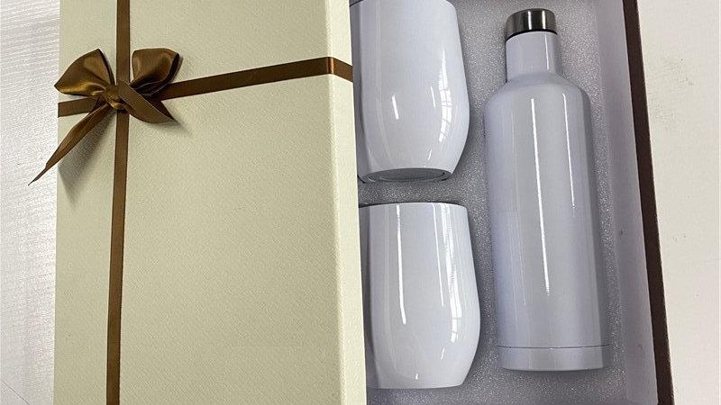 Blank Sublimation Red Wine Mug Bottle Gift Set  Transfer Printing by Sublimation