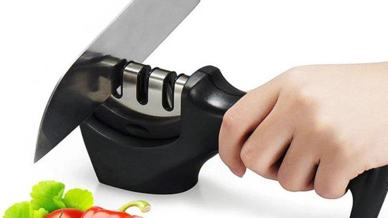 Stainless Steel Knife Sharpener Kitchen Diamond Sharpener Professional Whetstone
