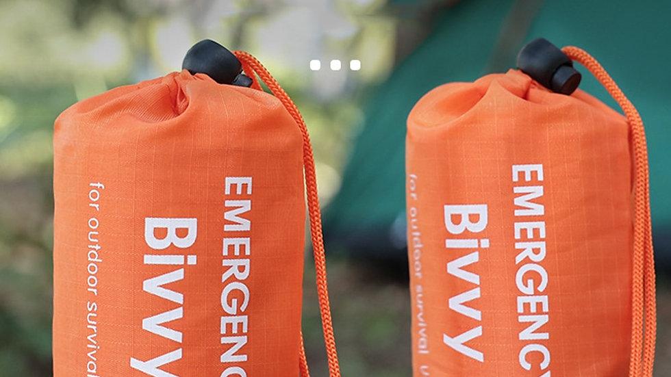 Outdoor Portable Emergency Sleeping Bag Thermal Keep Warm Waterproof