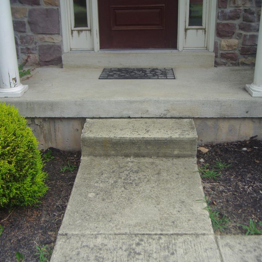 Simple Concrete Steps Before