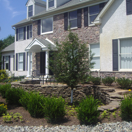 Residential Patio - Front Entrance