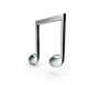 Beamed Music Note Silver.H03.2k.png