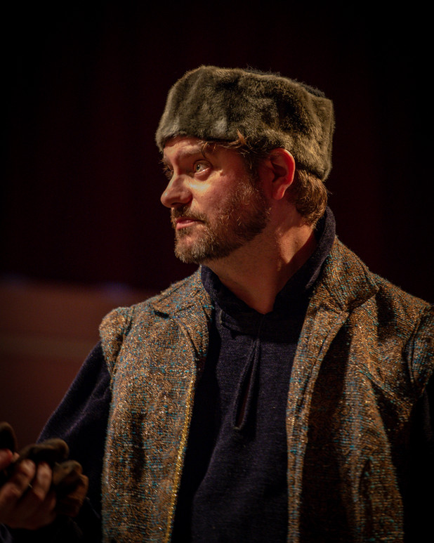 as Mowbray in Richard II, Walking the dog Theatre and Nikita Prod.