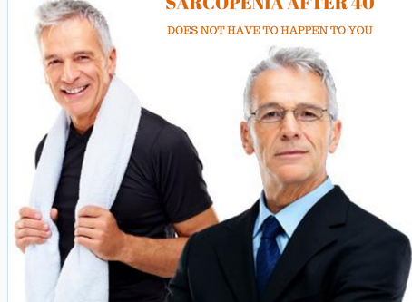 Sarcopenia, also known as muscle loss, is a common condition that affects adults  40 and older