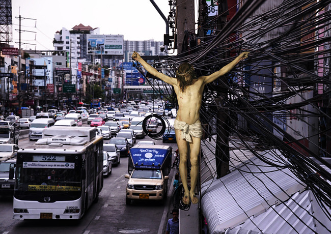 Bangkok electric wire