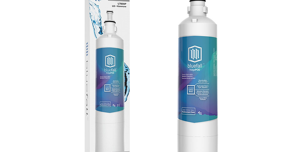 LG LT600P & Kenmore 46-9990 - Refrigerator Water Filter- Compatible by Bluefall