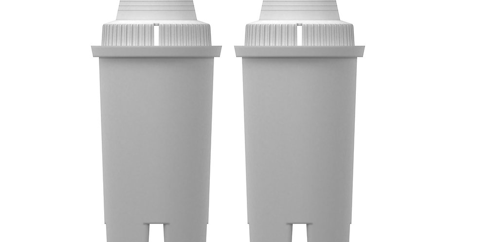 Replacement Alkaline Filters for Drinkpod Pitchers and Dispensers- 2 Pack