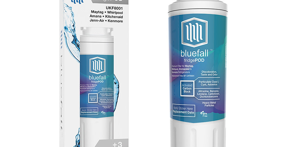 Maytag UKF8001 Refrigerator Water Filter- Compatible by Bluefall