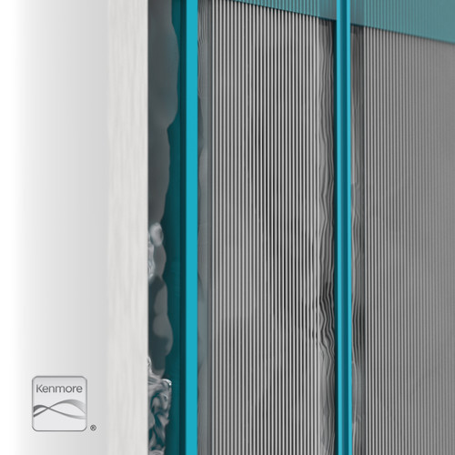 ULTRA+3 Filter (Stage 1) - Hollow Fiber Membrane Closeup