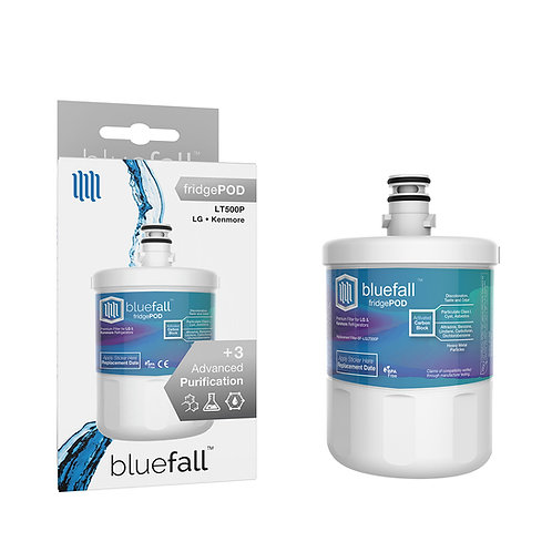 LG LT500P & Kenmore 46-9890 Refrigerator Water Filter- Compatible by Bluefall