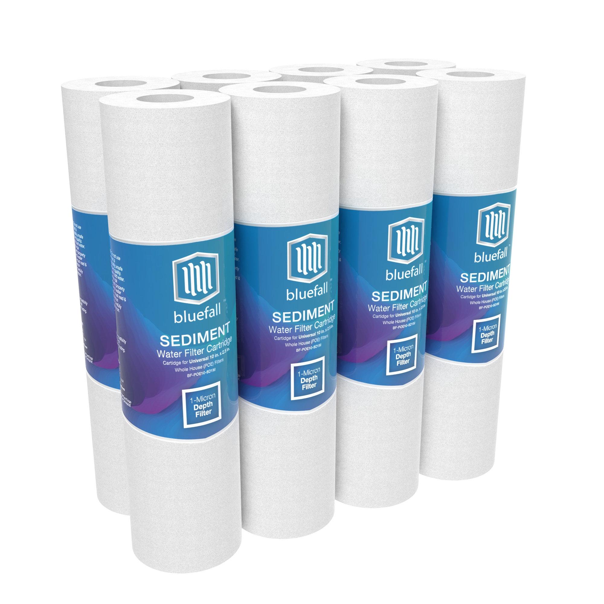 1 Micron Sediment Filter Universal Whole House Cartridge Drinkpod