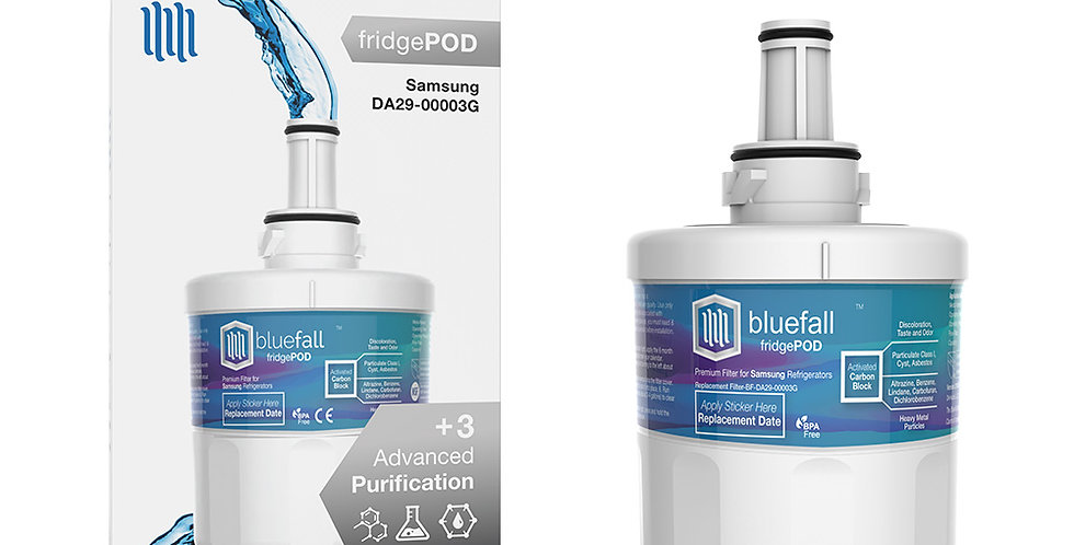 Samsung DA29-00003G Refrigerator Water Filter- Compatible by Bluefall