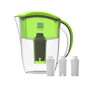 Drinkpod_PitcherPod-1S-with-Filters_Lime