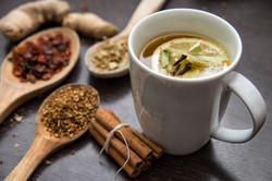 hot & herbal teas
