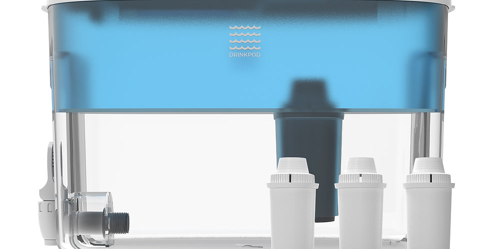 Drinkpod Dispenser Alkaline Countertop Water Filter Ionizer