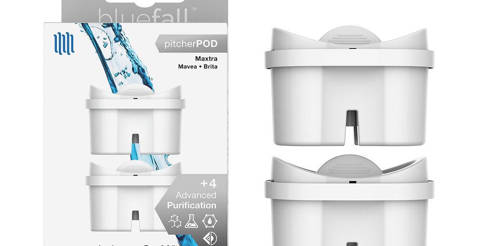 Mavea/Brita MaxtraWater Filter Pitcher - Compatible by Bluefall