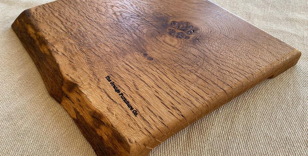 Pippy Oak double live edge board 32cm