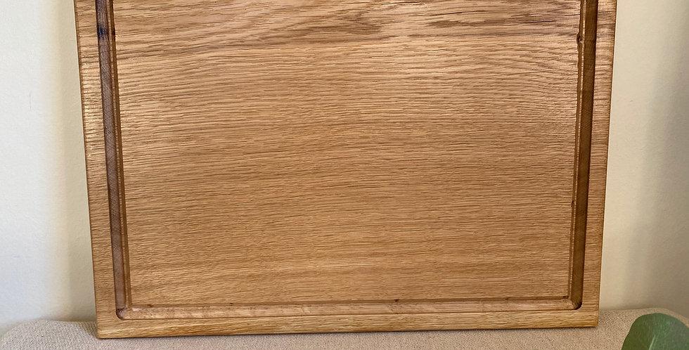 English Oak Rectangular Bread Board