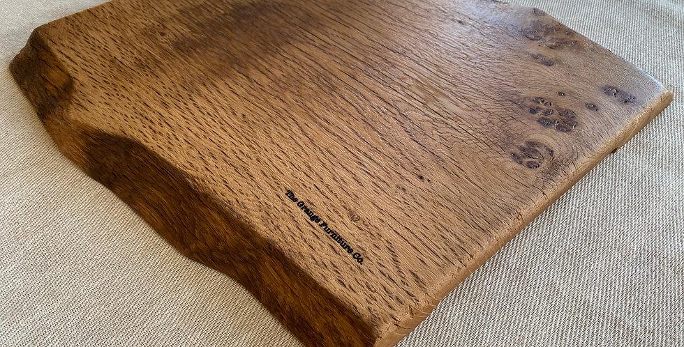 Pippy Oak double live edge board 39.5cm