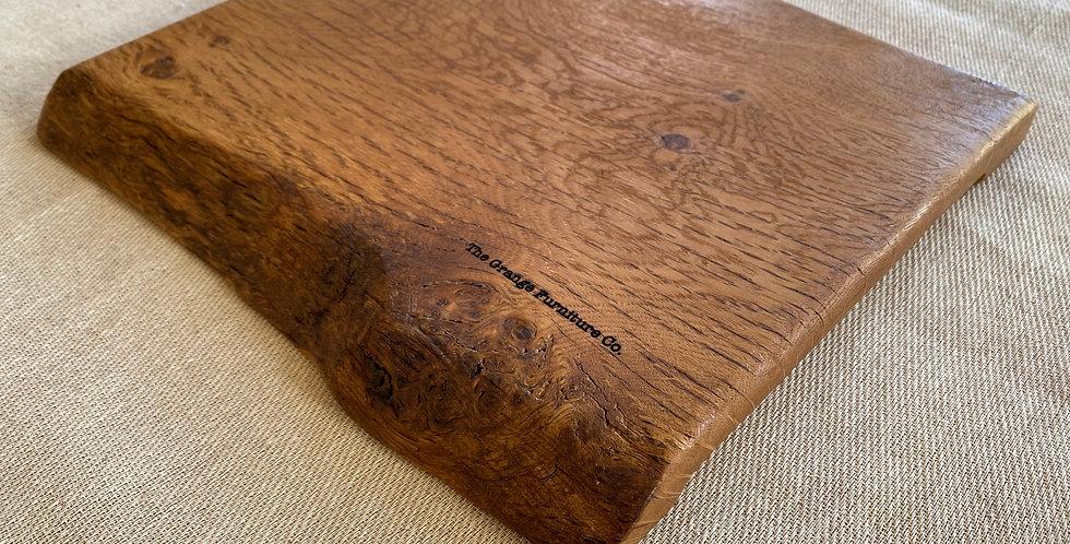 Pippy Oak live edge board 33cm