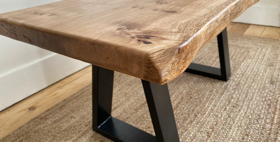 MADE TO ORDER Live edge coffee table