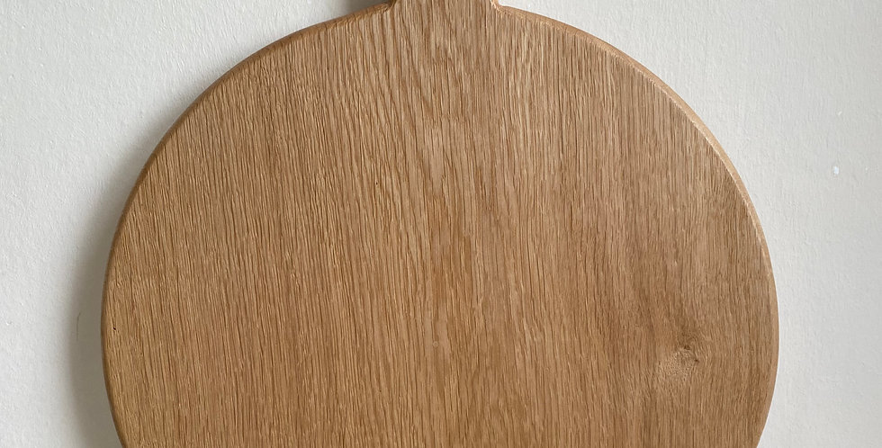 "English Oak Pizza Board Large 14"""