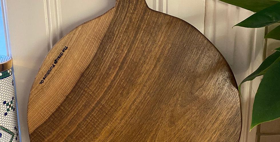 English Walnut round board 36cm