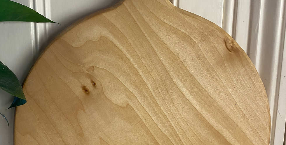 English Lime round board 33cm