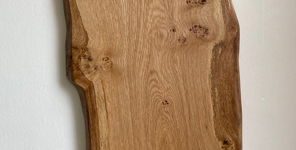 Extra Large English Pippy Oak board with handles