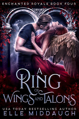 A RING OF WINGS AND TALONS